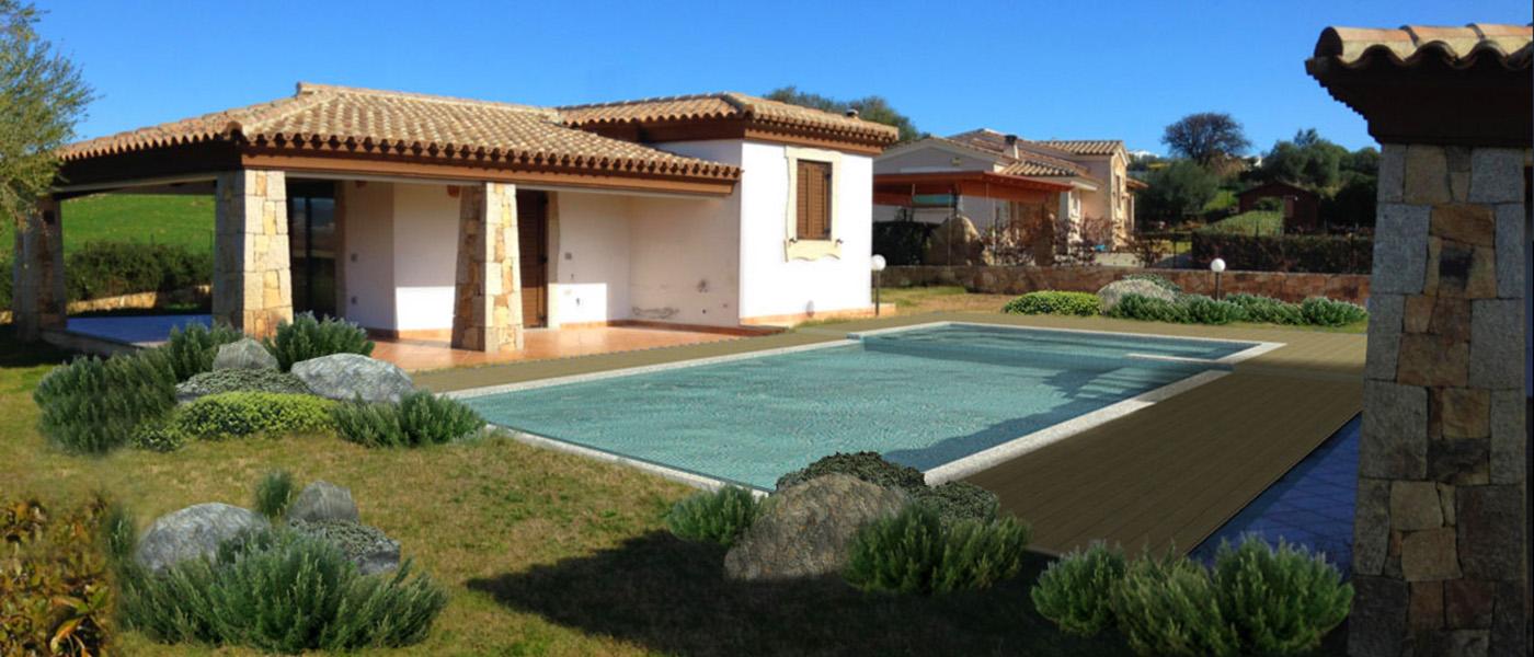 Ferienhaus Bungalow Und Fewo Details Pool Villetta Am Budoni